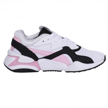 puma bianche e rosa