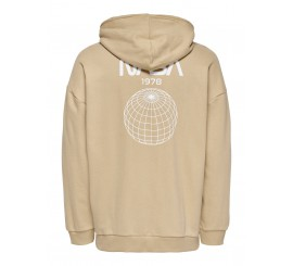 ONLY & SONS HOODIE NASA CAPPUCCINO